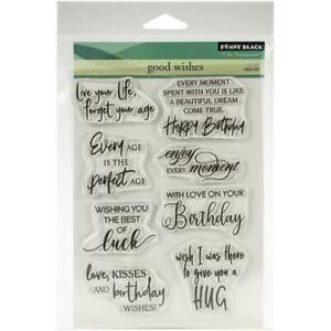 """Penny Black Clear Stamps - Good Wishes 5""""X6.5"""""""