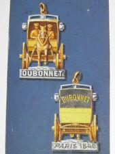 DUBONNET Projet Porte-clés Publicitaire Hippomobile DESSIN GOUACHE ORIGINAL 1960