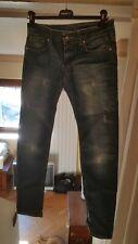 DONDUP jeans da slim fit a vita bassa denim blu nuovo ULTIME TAGLIE DISPONIBILI.