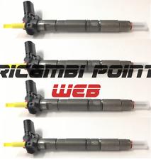 4 Iniettori Bosch Ricostruiti 0445116030 Audi A3 A4 A5 A6 Q5 VW Golf VI 2.0 TDi