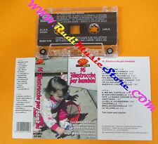 MC 16 FILASTROCCHE PER BAMBINI 1997 italy SM SUPER MUSIC 6149 no cd lp dvd vhs