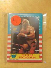 1987 TOPPS WWF Card Pack Hulk Hogan The Magnificent Muraco