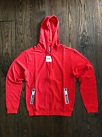 Moschino Tape Logo Red Jacket EU ExtraSmall (DUSTBAG INCLUDED)