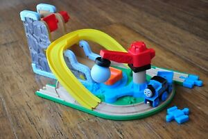 THOMAS LEARNING CURVE WOODEN RAILWAY EARLY ENGINEERS Rock & Roll Quarry