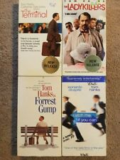 Lot of 4 VHS Tapes  TOM HANKS The Terminal  Ladykillers Forrest Gump, Catch Me