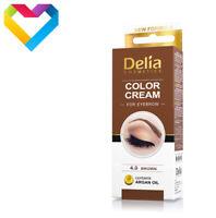 HENNA DELIA COLOUR CREAM FOR EYEBROWS 4.0 BROWN 15ml