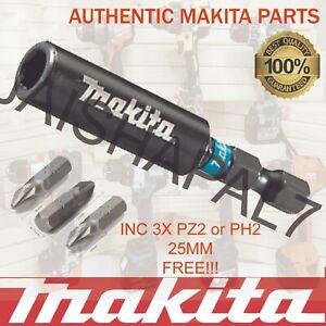 IMPACT MAKITA 60mm Magnetic Bit Holder DEWALT BOSCH HITACHI AEG Impact Driver
