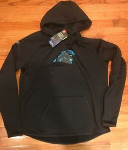 Under Armour NFL Combine Carolina Panthers Storm Women's Hoodie Large L NWT $80