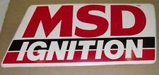 MSD IGNITION Holley Small Sticker workshop, tool box, man cave, beer fridge, car