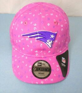 New England Patriots Girl's Infant New Era 9FORTY Cap Hat