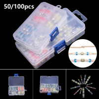 Electrical Wire Crimp Terminal Connector Heat Shrink Tube Assortment Kit