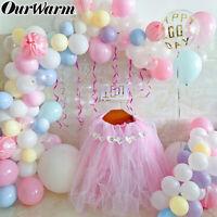 5M Balloon Chain Tape Arch Connect Strip Wedding Birthday Party DIY Ballon Clip