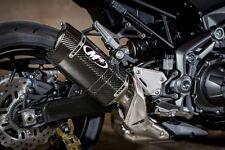 M4 Exhaust Kawasaki Z900 2017 Carbon Fiber Slip-On FREE SHIPPING