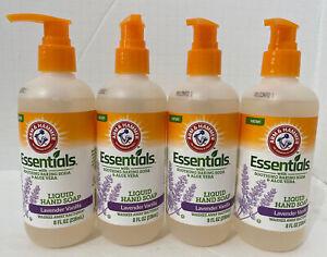 Arm & Hammer Hand Soap Pump 8oz Lavender And Vanilla Lot Of 4 FREE SHIPPING