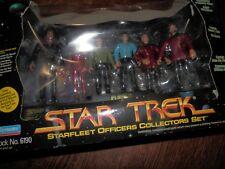 Star Trek Spock, Kirk, Star Fleet Collectors Set no. 6190, Never Opened
