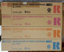 RICOH TYPE 145 TONER CARTRIDGE 888276 888277 888278 888279 CYMK