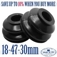 2 X High Quality Rubber Dust Cover 18 47 30 Track Rod End Ball Joint Dust Boots