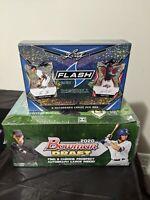 2020 BOWMAN DRAFT BASEBALL SUPER JUMBO BOX BREAKw/ Leaf Flash Baseball 11 autos!