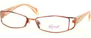 NEW KAOS KK219 Col.2 PINK /ORANGE EYEGLASSES GLASSES METAL FRAME 52-15-135mm
