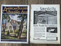 Vintage Sept 1931 Reo Wagon Dodge Truck Firestone Ads American Builder Magazine