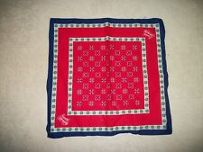 Red& Multi colared Women's Hair or neck scarf, MADE BY AVON,!!