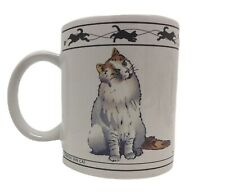 Cat Lovers Limited Collectable Cats Cup Mug Chartreaux Cat Turkish Van Cat Vntg