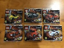LEGO Ferrari Shell V-Power Set of 6