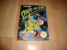SKATE OR DIE SKATEBOARDING PAL B FOR NINTENDO NES NEW FACTORY SEALED