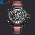 Luxury Men's LED Military Quartz Sport Army Analog Stainless Steel Wrist Watch