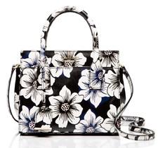 Kate Spade Crossbody Satchel cameron street floral mini candace ~Black~ NWT $278