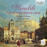 FEDERICO GUGLIELMO/L'ARTE DELL'ARCO/+ - VIVALD: FLUTE CONCERTOS OP.10  CD NEU
