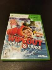 Wipeout: Create & Crash -- XBOX 360 -- CONDITION B+