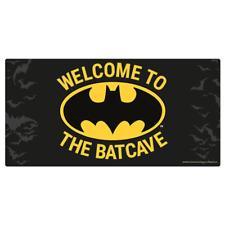 Batman Metal Wall Sign Batcave | OFFICIAL