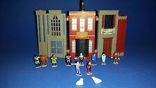 Rare Batman Microverse Gotham City Micro Playset w Figures Lot