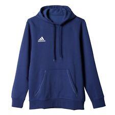 Adidas Mens Core Hoodie Sweatshirt Jumper Hooded Top Fleece Pullover Black Navy