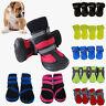 4Pcs Non-slip Puppy Pet Dog Shoes Waterproof Boots Winter Warmer Booties Sock