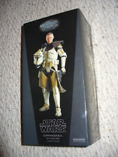 """RARE ! Star Wars Sideshow Collectables Hot Toys 1/6 Scale 12"""" - Commander Bly"""