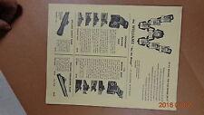 "1950s Williams Gun Sights Catalog retail Price List ""on the range"" sights"