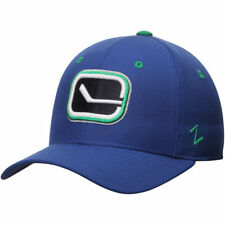 Vancoucer Canucks Cap NHL Eishockey Zephyr Cap Kappe Flex Size XL