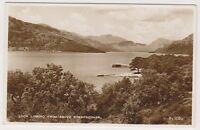 Dunbartonshire postcard - Loch Lomond from above Rowardennan - RP - P/U 1968