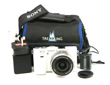Sony A6000 DSLR Camera & 16-50mm OSS Lens Kit -WiFi + 1080p HD + 11,809 Shots