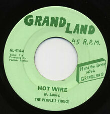 PEOPLES CHOICE Hot Wire/Ease The Pain NORTHERN SOUL 45