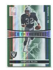 2006 Elite Back to the Future Green #11 Marcus Allen/LaMont Jordan/1000 Raiders
