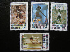 CONGO brazzaville - timbre yvert et tellier aerien n° 288 a 291 n** (A9) stamp
