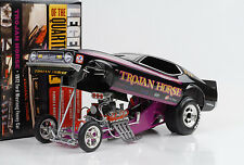 1972 Ford Mustang Trojan Horse Q- Mile Dragster Funny car 1:18 Auto world Ertl