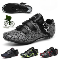 Professional Road Cycling Shoes Men SPD Shoes Ultralight Road Bicycle Bike Shoes
