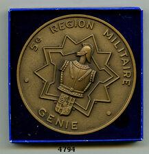 Médaille de table , Direction des Travaux du Génie /  5 RM.