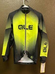 Alé Cycling PRR Long Sleeve Jersey - Fluo Yellow - Men's XS-XXL