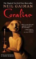 Coraline by Neil Gaiman (2004, Paperback)