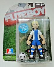 FUTEBOY Finger Buddies Action Figure Soccer Game Futbol Blue/Blonde